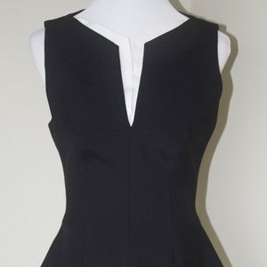 New ROBERT RODRIGUEZ Black & Ivory  Blouse Vest